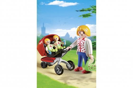 Zwillingskinderwagen - Playmobil® Playmobil City-Life Playmobil Citylife 5573 1