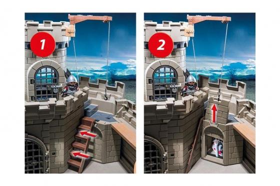 Falkenritterburg - Playmobil® Playmobil History Playmobil Histoire 6001 4