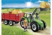 Großer Traktor mit Anhänger - Playmobil® Playmobil Bauernhof Playmobil à la ferme 6130  [article_picture_small]