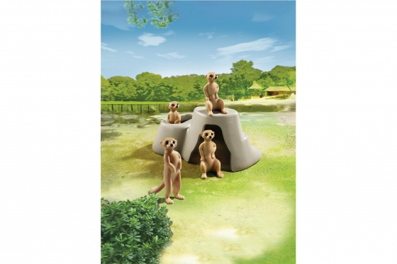 Erdmännchenhügel - Playmobil® Playmobil Freizeit Playmobil Loisirs 6655