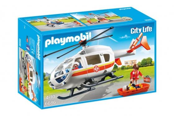 Rettungshelikopter - Playmobil® Playmobil City-Life Playmobil Citylife 6686