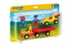 Rennauto mit Transporter - Playmobil® Playmobil 1.2.3 Playmobil 1.2.3 6761  [article_picture_small]