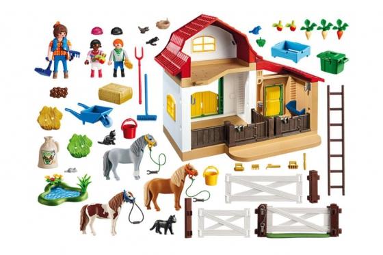 Ponyhof - Playmobil® Playmobil Bauernhof Playmobil à la ferme 6927 1
