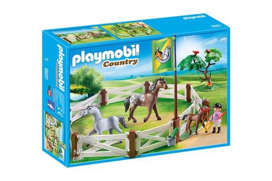 Pferdekoppel - Playmobil® Playmobil Bauernhof Playmobil à la ferme 6931