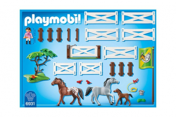 Pferdekoppel - Playmobil® Playmobil Bauernhof Playmobil à la ferme 6931 1