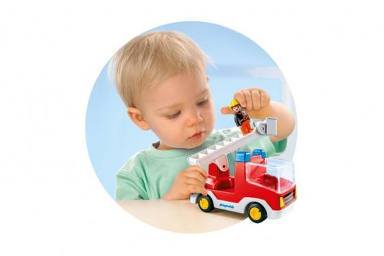 Feuerwehrleiterfahrzeug - Playmobil® Playmobil 1.2.3 Playmobil 1.2.3 6967 2