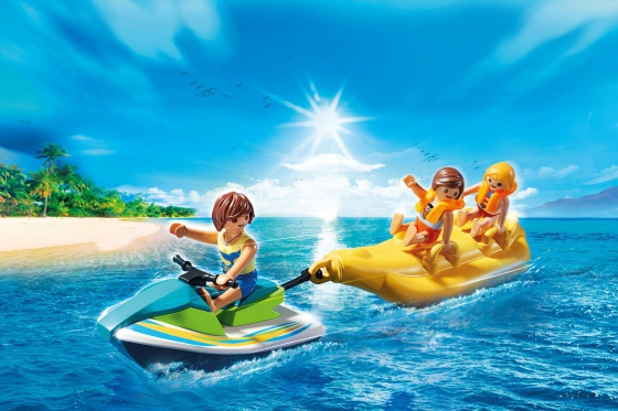 Jetski mit Bananenboot - Playmobil® Playmobil Freizeit Playmobil Loisirs 6980 1