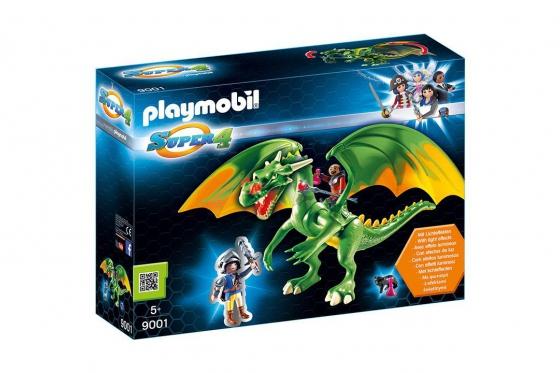 Ritterland-Drache mit Alex - Playmobil® Playmobil Super4 Playmobil Super4 9001
