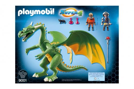 Ritterland-Drache mit Alex - Playmobil® Playmobil Super4 Playmobil Super4 9001 1