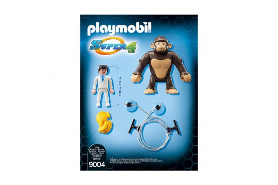 Riesenaffe Gonk - Playmobil® Playmobil Super4 Playmobil Super4 9004 1