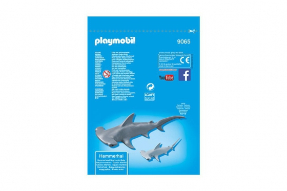 Hammerhai mit Baby - Playmobil® Playmobil Freizeit Playmobil Loisirs 9065 1
