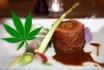 Menu Cannabis pour 2-Restaurant le Point Gourmand à Morgins (VS) 1
