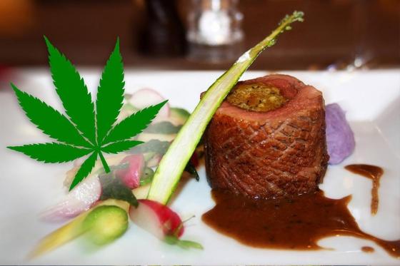 Cannabis 4-Gänge-Menü für 2 - Restaurant Point Gourmand in Morgins (VS)  [article_picture_small]