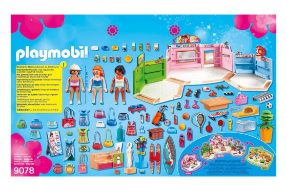 Einkaufspassage - Playmobil® Playmobil City-Life Playmobil Citylife 9078 1