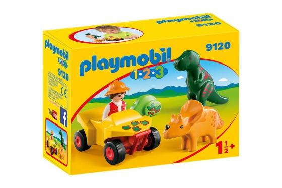 Dinoforscher mit Quad - Playmobil® Playmobil 1.2.3 Playmobil 1.2.3 9120