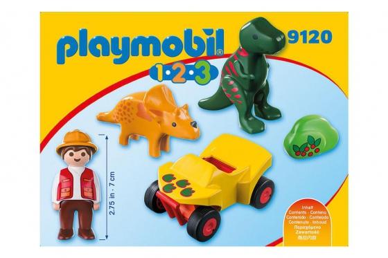 Dinoforscher mit Quad - Playmobil® Playmobil 1.2.3 Playmobil 1.2.3 9120 1