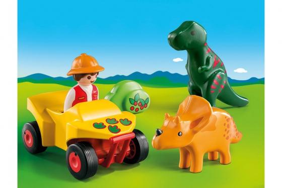Dinoforscher mit Quad - Playmobil® Playmobil 1.2.3 Playmobil 1.2.3 9120 2