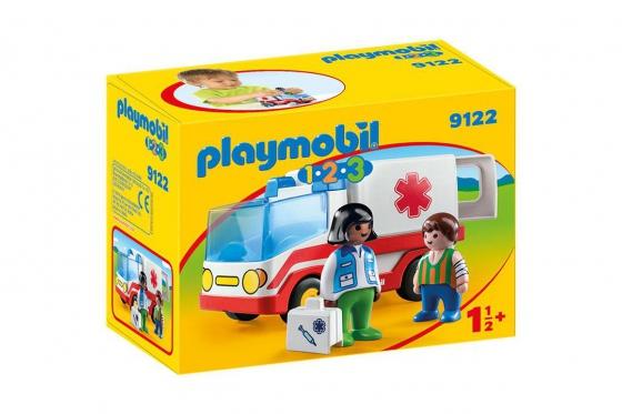 Rettungswagen - Playmobil® Playmobil 1.2.3 Playmobil 1.2.3 9122