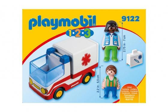 Rettungswagen - Playmobil® Playmobil 1.2.3 Playmobil 1.2.3 9122 1