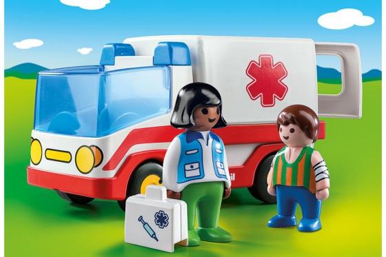 Rettungswagen - Playmobil® Playmobil 1.2.3 Playmobil 1.2.3 9122 2