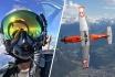 Vol en avion militaire-30min avec un Pilatus PC-7 1