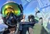 Vol en avion militaire-30min avec un Pilatus PC-7 5