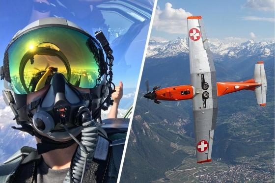 Vol en avion militaire - 30min avec un Pilatus PC-7  [article_picture_small]