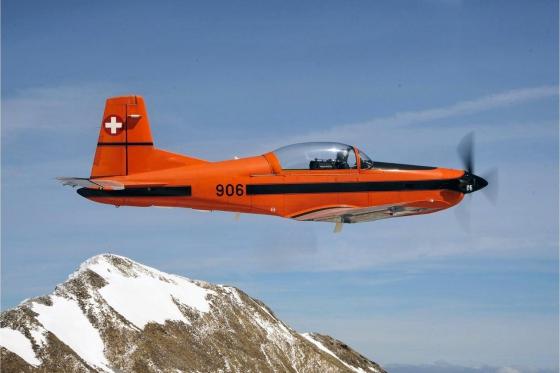 Vol en avion militaire - 30min avec un Pilatus PC-7 1 [article_picture_small]