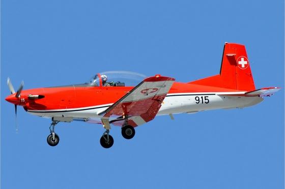 Vol en avion militaire - 30min avec un Pilatus PC-7 2 [article_picture_small]