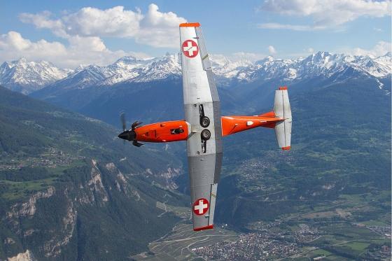 Vol en avion militaire - 30min avec un Pilatus PC-7 3 [article_picture_small]