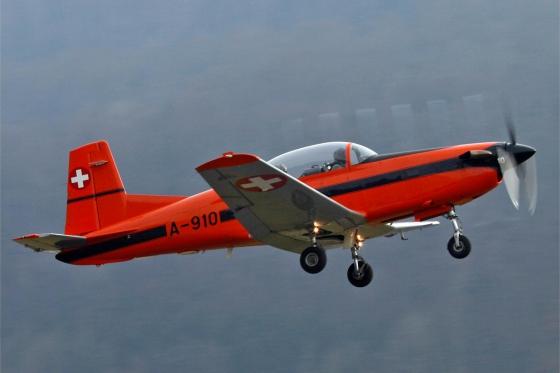 Vol en avion militaire - 30min avec un Pilatus PC-7 5 [article_picture_small]