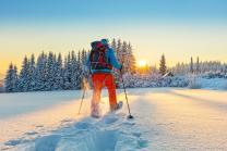 Schneeschuhtour - bei Mondschein