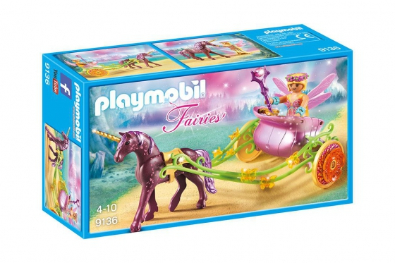 Blumenfee mit Einhornkutsche - Playmobil® Playmobil Magic Playmobil Magic 9136