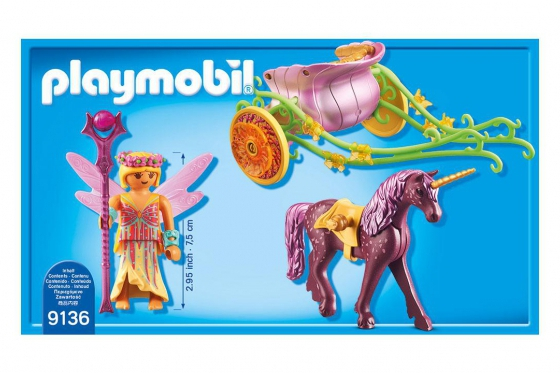 Blumenfee mit Einhornkutsche - Playmobil® Playmobil Magic Playmobil Magic 9136 1