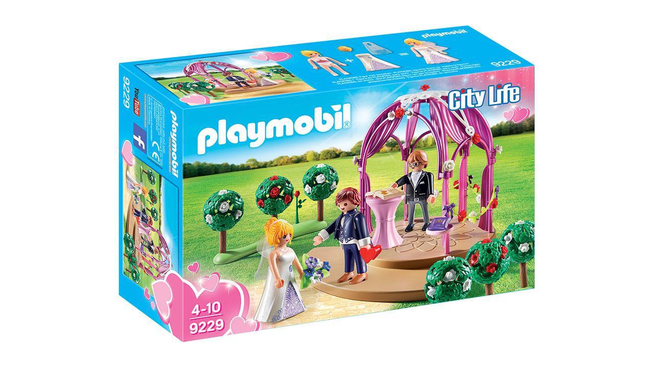 hochzeitspavillon mit brautpaar playmobil® playmobil