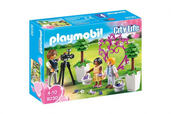 Fotograf mit Blumenkindern - Playmobil® Playmobil City-Life Playmobil Citylife 9230