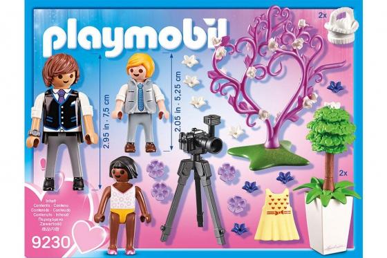 Fotograf mit Blumenkindern - Playmobil® Playmobil City-Life Playmobil Citylife 9230 1