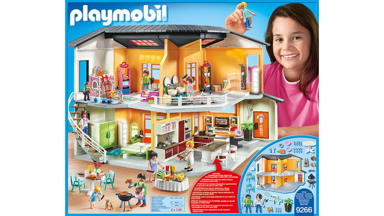 Beautiful maison moderne playmobil gallery design trends for Cuisine maison moderne playmobil