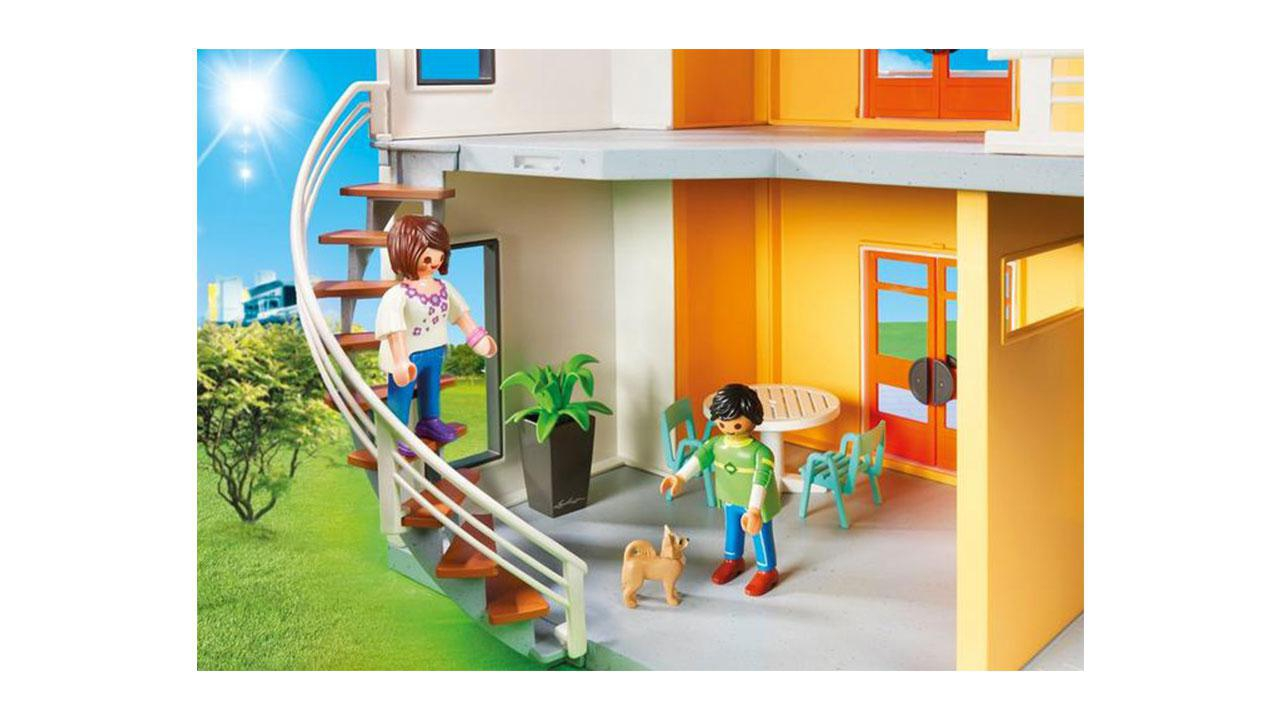 Beautiful maison moderne playmobil gallery design trends for Maison moderne playmobil carrefour