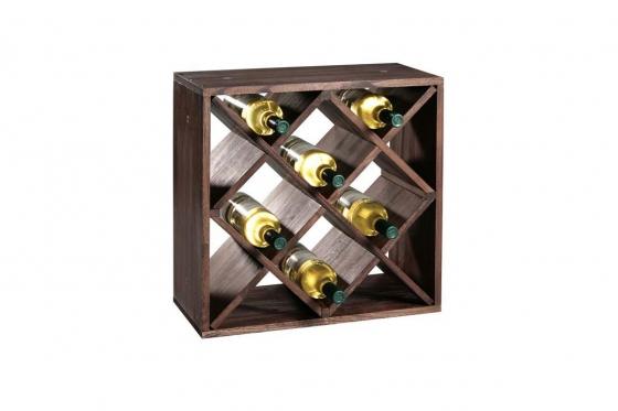 Weinflaschen-Regalsystem   - 50 x 50 x 25 cm