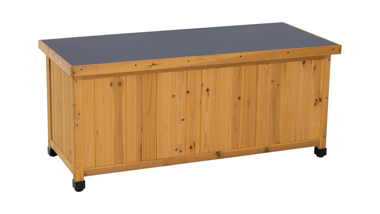 kissenbox holz. Black Bedroom Furniture Sets. Home Design Ideas