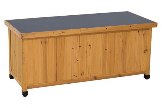 Kissenbox Holz - z.B. für Gartenkissen oder -material