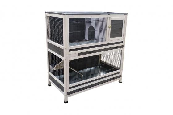 Cage à lapin - 105 x 60 x 120cm