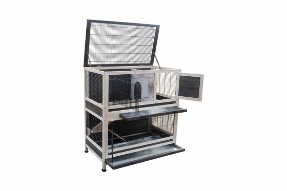 Cage à lapin - 105 x 60 x 120cm 1