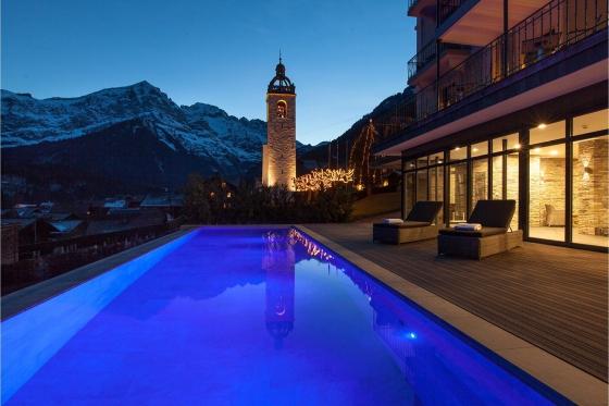 Séjour Wellness en montagne - Hôtel 4* National Resort & Spa à Champéry (VS)  [article_picture_small]