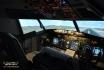 Rundflug im Simulator-90 min Airbus 380 Cockpit in Zürich 5