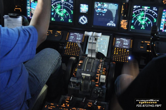 Rundflug im Simulator - 90 min Airbus 380 Cockpit in Zürich 2 [article_picture_small]