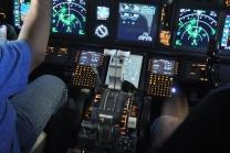 Simulator Flugerlebnis in Zürich - Airbus A380 Cockpit 60 min