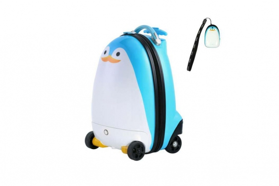 Valise pingouin - télécommandée