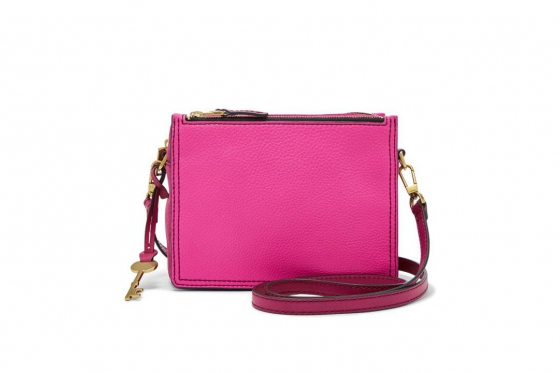 Fossil Tasche - Campbell Crossbody Hot Pink